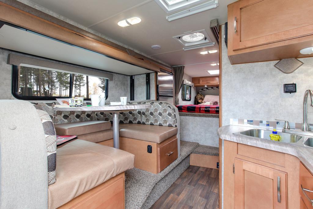 Fraserway Truck camper bunk