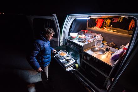 Escape campervan