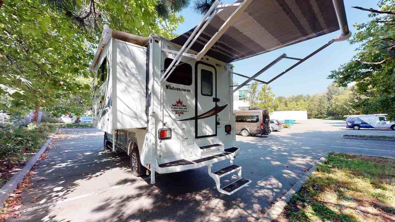 Fraserway Truck camper stapelbed