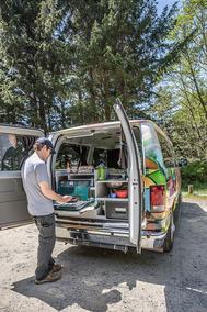 Escape camper