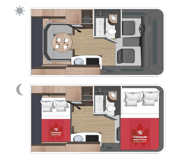 Fraserway C-Small floorplan