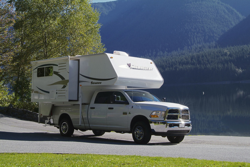 Fraserway Truck camper slide-out