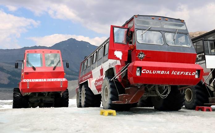 Athabasca gletsjer tour
