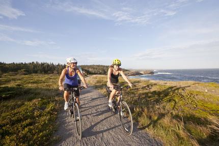 Fietsen op het schiereiland Cape Breton