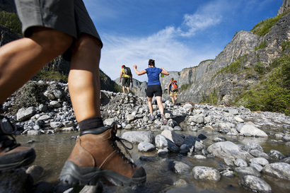 Hiking in Nahanni River National Park