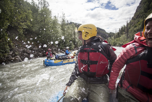 Rafting Oost Canada