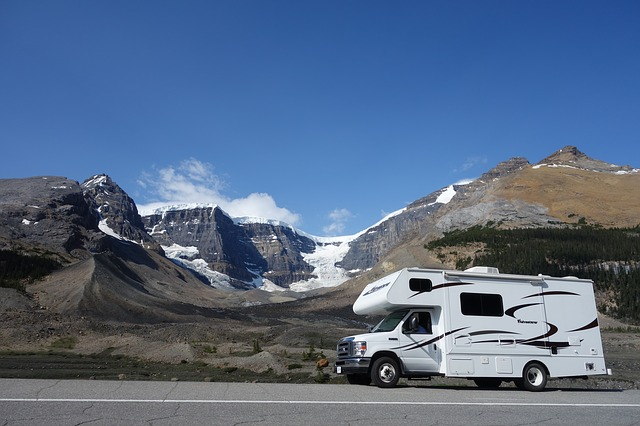 Athabasca gletsjer Alberta Canada